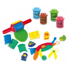 Crayola - Extra Large Playset - Roll and Shape