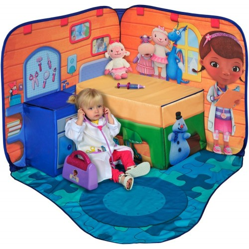 ... Disney Doc McStuffins 3D Playscape Tent ...  sc 1 st  Toy Corner UAE : disney play tents - memphite.com