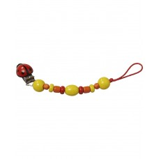 Glukskafer-Wooden Dummy chain with clips, Summer