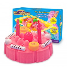 Motion Sand - Cake Playset - 3D Sparkling Sand Box