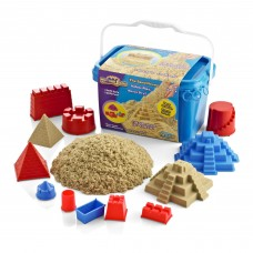 Motion Sand - Castle Set 3D Sand Box - Deluxe Bucket