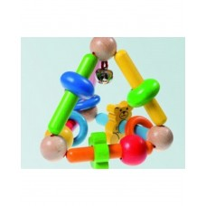 Walter-Pyramid Flexible Wooden Clutching Toy