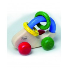 Walter-Grip-n-Car Minicar Wooden Baby Rattle