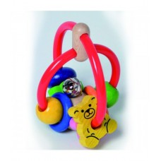Walter-Go-Go Flexible Wooden Rattle with Bell