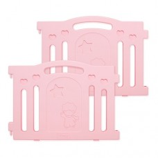 iFam Marshmallow Baby Room Side Panel Pink