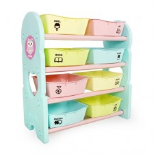 iFam Briring 4 Shelves Toy Organizers Mint