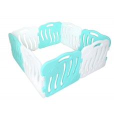 iFam Shell Baby Room Mint and White