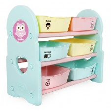 iFam Briring 3 Shelves Toy Organizers Mint