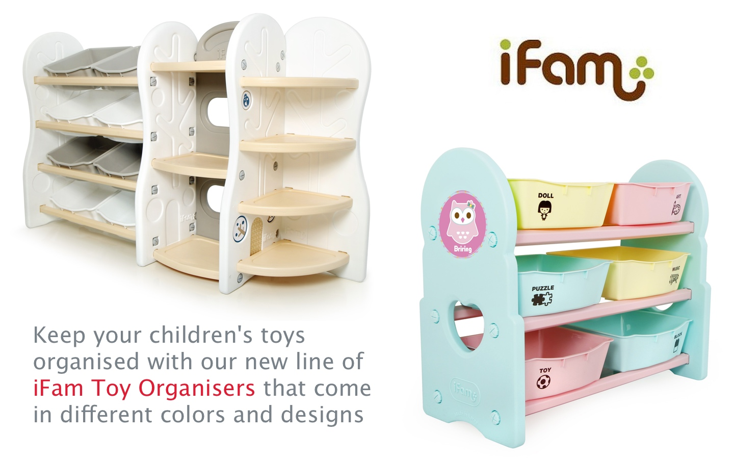 Ifam Toy Organisers